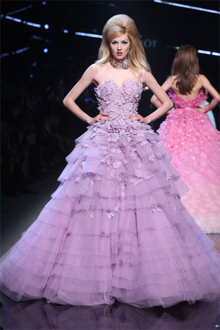 Christian Dior Dresse Haute Couture