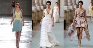 Modne haljine, proljece 2012.