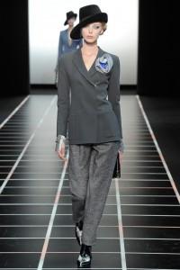 Armani sako moda jesen/zima 2012-2013